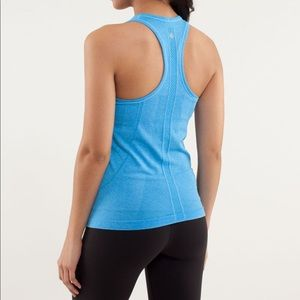 Lululemon | Swiftly Tech Solid Blue Tank Racerback